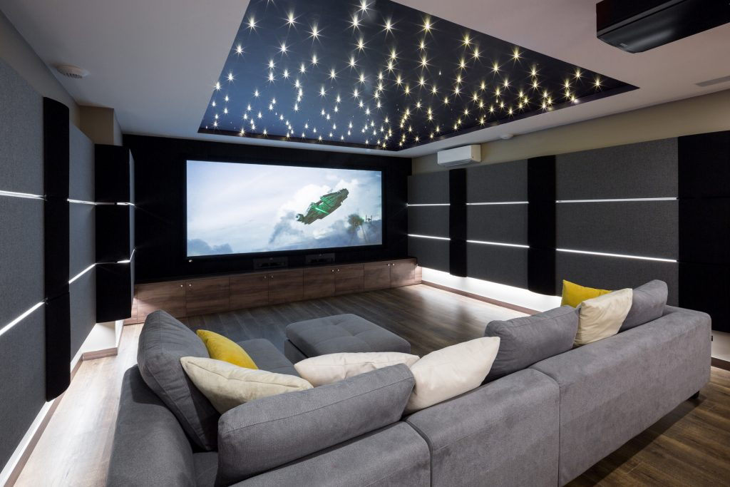 Salle De Cinema Privee Dsr Romain Chambodut